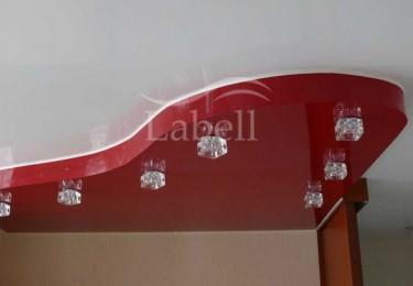 Натяжные потолки в двух уровнях