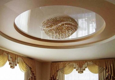 Многоуровневые потолки натяжные