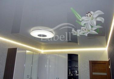 Варианты подсветки натяжного потолка