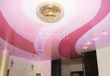 Спайка цветов натяжные потолки